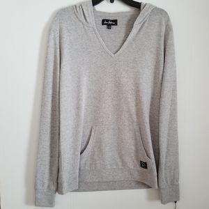 Sam Edelman | NWT Gray Hoodie Top size XL NEW grey
